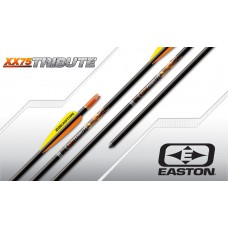 Easton Tribute XX75 Black Arrows Complete : (Set of 12) : (1214 spine) : ES38